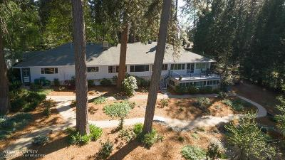 Nevada City Single Family Home For Sale: 10340 Banner Lava Cap Road
