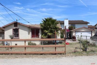 Santa Maria Single Family Home For Sale: 495 Newlove Drive #C