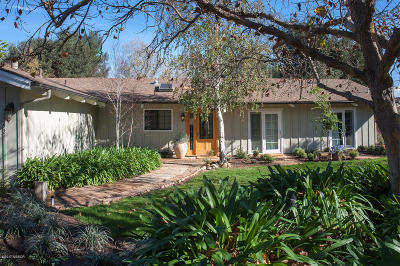 Santa Ynez Single Family Home For Sale: 1392 Faraday Street