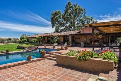 Los Olivos Single Family Home For Sale: 5999 Foxen Canyon Road