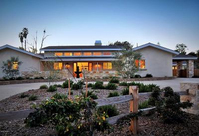 Solvang Single Family Home For Sale: 979-985 Old Ranch Road