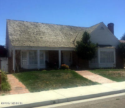 Santa Maria CA Single Family Home For Sale: $435,000