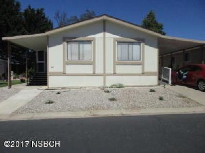 Santa Maria Single Family Home For Sale: 1650 E Clark Avenue #344