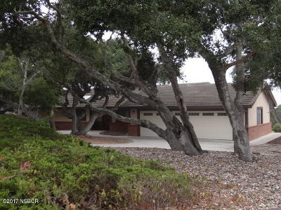 Santa Barbara County Single Family Home For Sale: 4387 Greenbrier Road