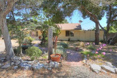 Santa Barbara County Single Family Home For Sale: 3170 Crucero Road