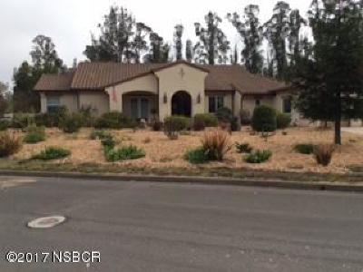 Nipomo Single Family Home For Sale: 1315 Coloma Lane
