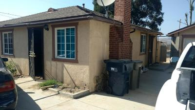 Santa Barbara County Single Family Home For Sale: 5105 Depot Street