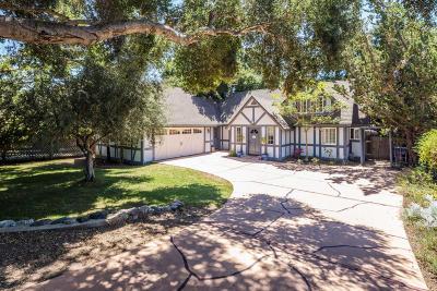 Santa Barbara County Single Family Home For Sale: 1628 Laurel Avenue