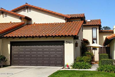Santa Barbara County Single Family Home For Sale: 4465 Foxenwood Lane