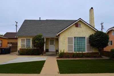Santa Maria Single Family Home For Sale: 420 E Cook Street