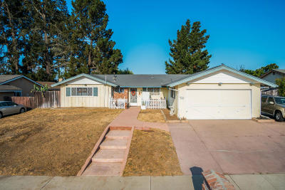 Santa Maria Single Family Home For Sale: 4607 S Bradley