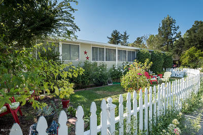 Solvang Single Family Home For Sale: 140 Sierra Vista