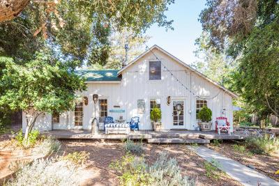 Single Family Home For Sale: 1930 Alamo Pintado Road