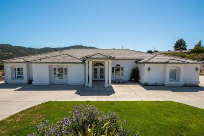 San Luis Obispo Single Family Home For Sale: 6850 Ontario Road