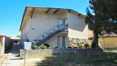 Lompoc Multi Family Home For Sale: 526 N L Street
