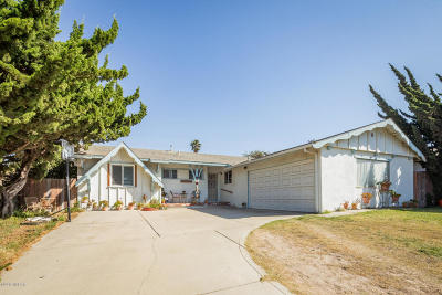Santa Barbara County Single Family Home For Sale: 3012 Courtney Drive
