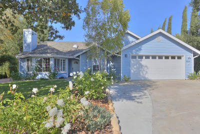 Santa Ynez Single Family Home For Sale: 3547 Cerrito Street