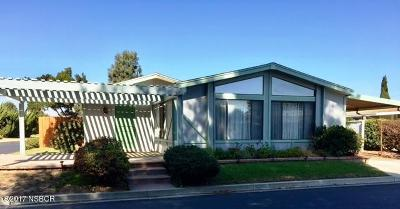 Santa Maria Single Family Home For Sale: 519 W Taylor Street #225