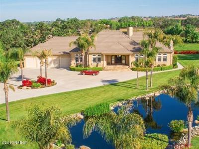 Santa Ynez Single Family Home For Sale: 4175 Baseline Avenue