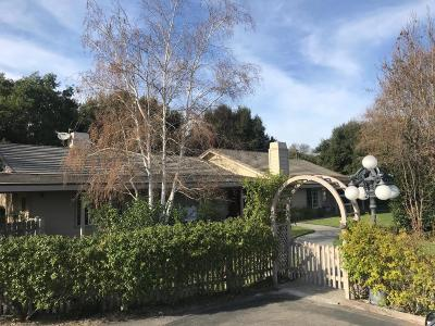 Solvang Single Family Home For Sale: 2405 Meadow Ranch Road