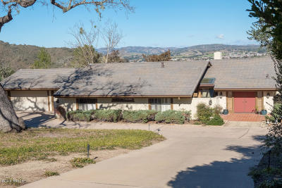 Solvang Single Family Home For Sale: 3153 Riley Road