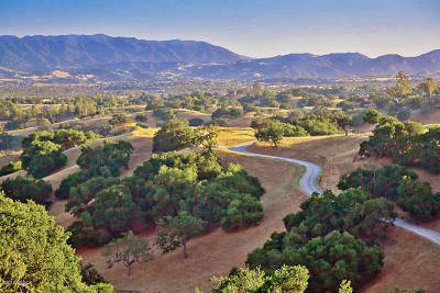 Santa Ynez Residential Lots & Land For Sale: 3353 Long Valley Road