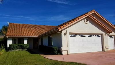 Santa Maria Single Family Home For Sale: 1477 Ivory Drive