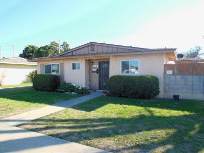 Lompoc Multi Family Home For Sale: 412 E Prune Avenue #A & B