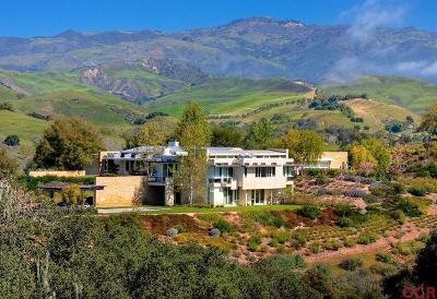 Santa Ynez Single Family Home For Sale: 6660 Happy Canyon Road