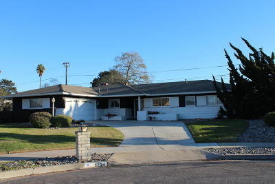 Santa Maria Single Family Home For Sale: 3234 Arbor Lane