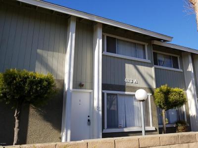 Santa Barbara County Single Family Home For Sale: 413 E Park Avenue #A4