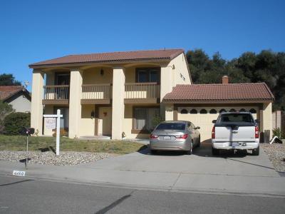 Lompoc Single Family Home For Sale: 4460 Libra Drive