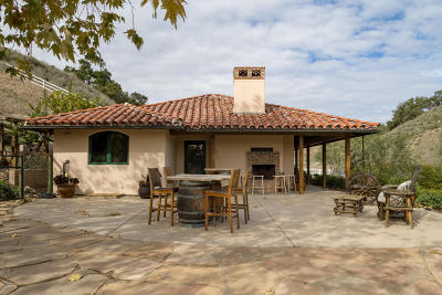 Santa Ynez Single Family Home For Sale: 2701 Pepper Tree Ranch Road