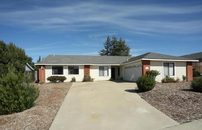 Santa Maria CA Single Family Home For Sale: $459,900