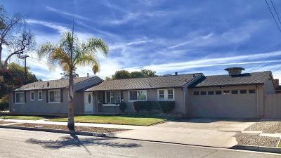 Santa Barbara County Single Family Home For Sale: 326 E Mariposa Way