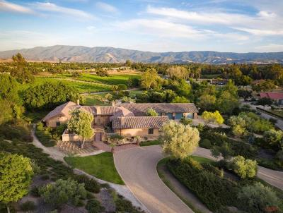 Santa Ynez Single Family Home For Sale: 2740 Ontiveros Road