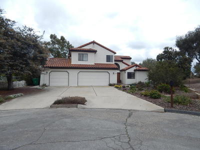 Lompoc Single Family Home For Sale: 3158 Fredrich Drive