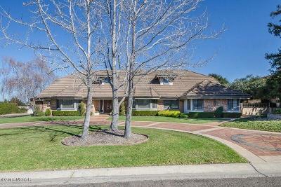 Santa Barbara County Single Family Home For Sale: 5864 Oakhill Drive