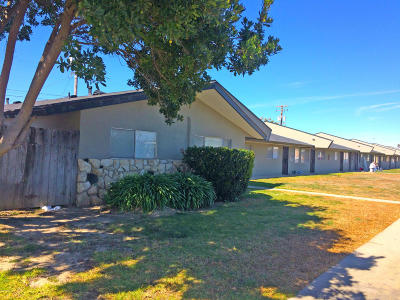 Lompoc Multi Family Home For Sale: 625 N B Street