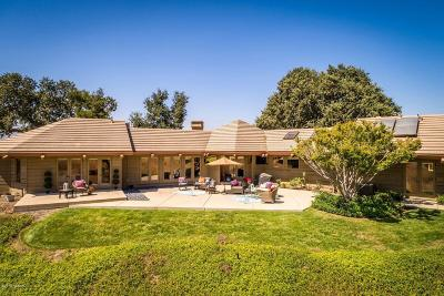 Los Olivos Single Family Home For Sale: 2920 Bramadero Road