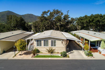 Solvang Single Family Home Active Under Contract: 9 Paseo Del Rio