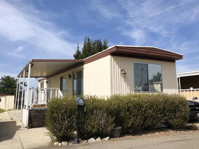 Santa Maria CA Single Family Home For Sale: $10,000