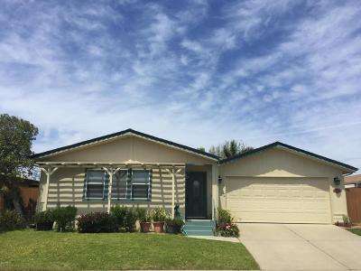 Santa Maria Single Family Home For Sale: 921 N Ridge View Drive