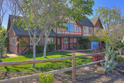 Solvang Single Family Home For Sale: 296 1st Street