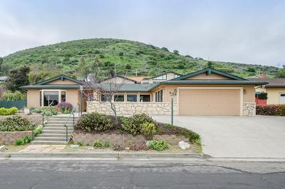 Lompoc Single Family Home For Sale: 649 University Drive