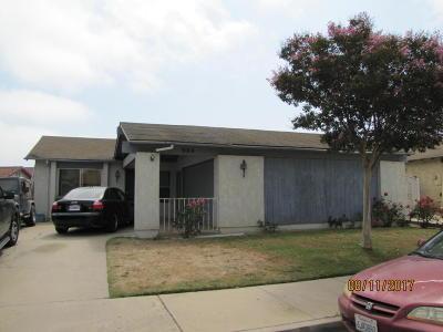 Santa Maria Single Family Home For Sale: 904 Colleen Avenue