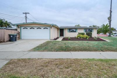 Santa Maria Single Family Home For Sale: 1304 N McClelland Street