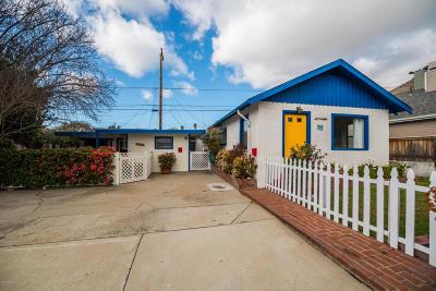 Pismo Beach Single Family Home For Sale: 120 Wawona Avenue #A