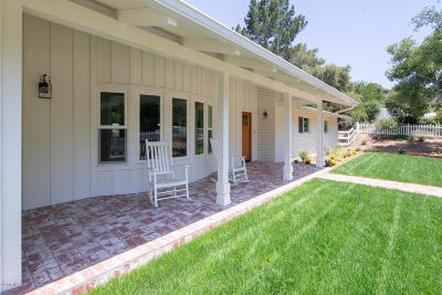 Ballard, Buellton, Los Alamos, Los Olivos, Santa Ynez, Solvang Single Family Home For Sale: 1241 Deer Trail Lane