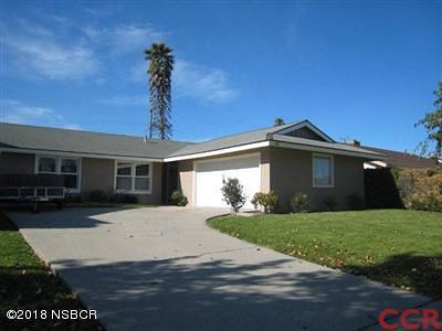 Lompoc Single Family Home For Sale: 313 Amherst Place